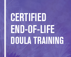 end of life doula training